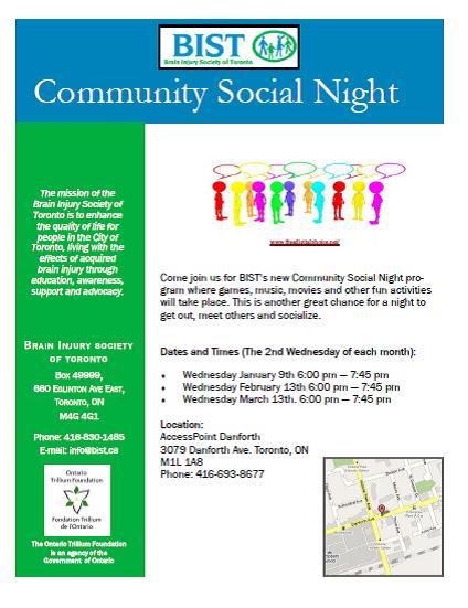 BIST Social Nights