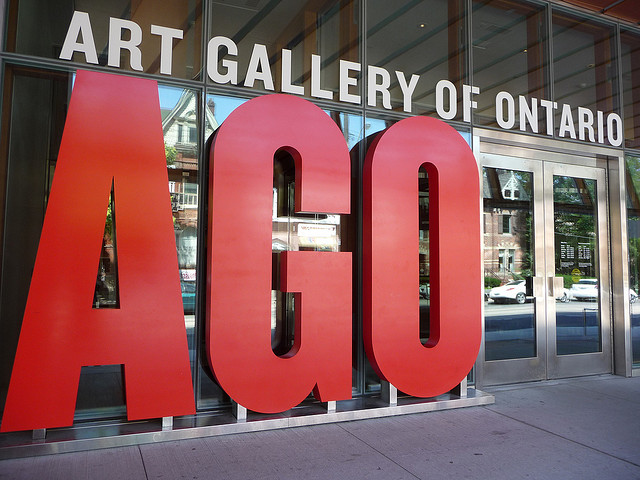 Outside the Art Gallery of Ontario