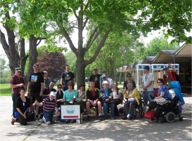 BIST members at Toronto Island
