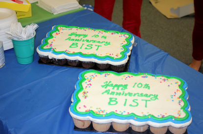 BIST 10th anniversary party