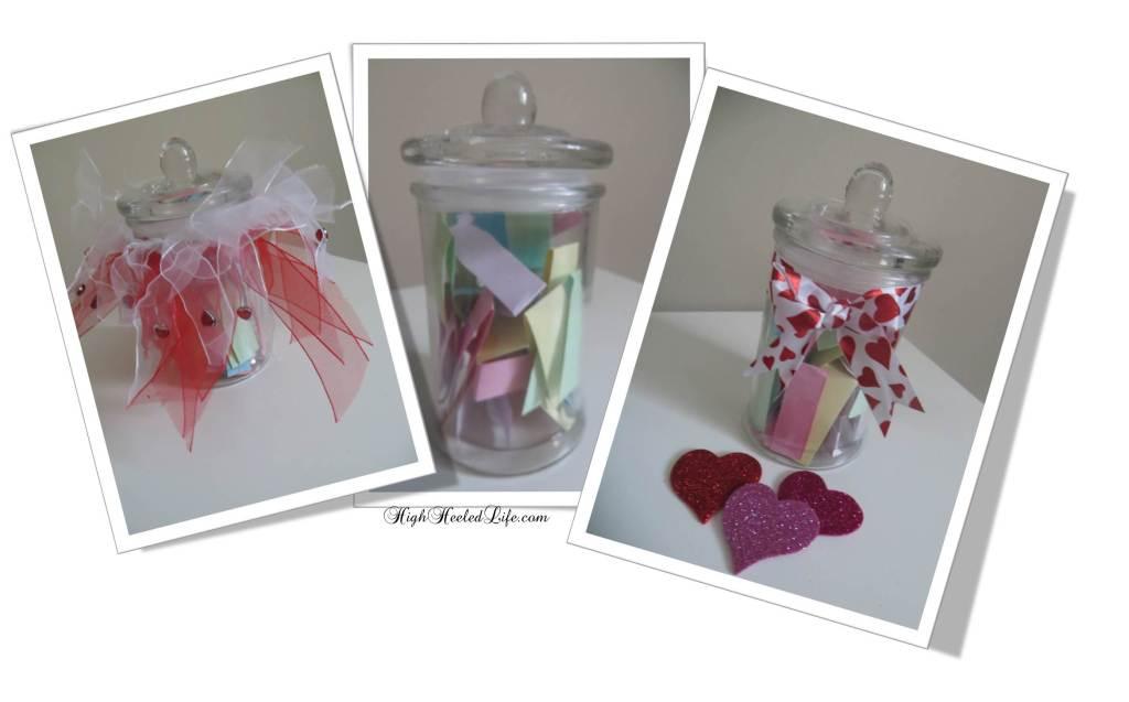 Various Self-Love Jars