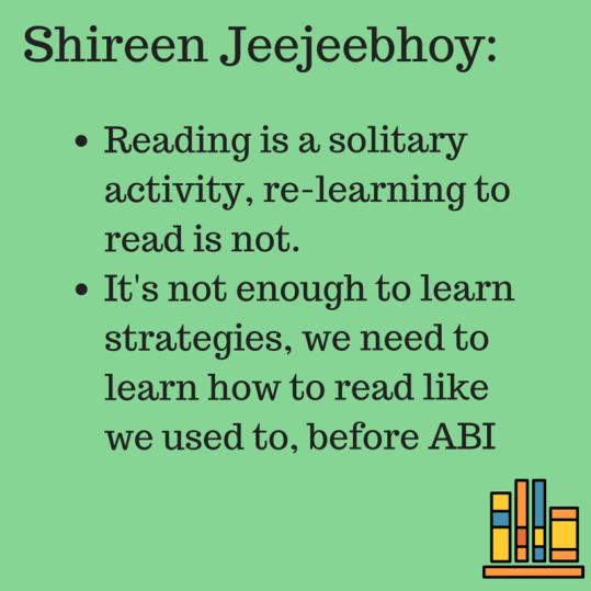 Reading is a solitary activity,