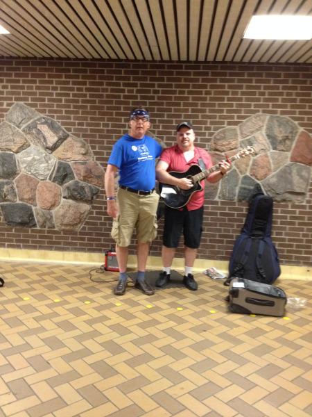 Rob at Spadina Subway Station