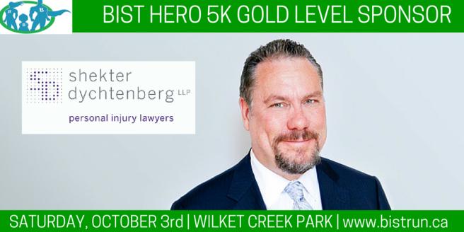 BIST 5k Gold level sponsor Shekter Dychtenberg LLP i