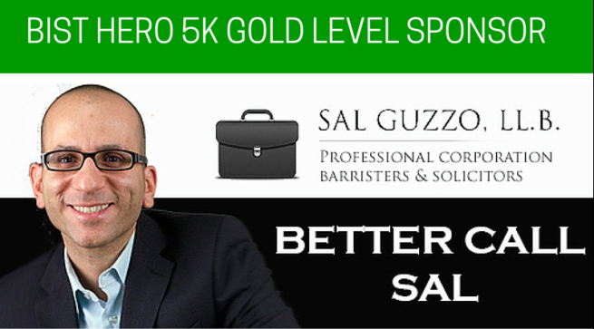 BIST HERO 5K GOLD SPONSOR SAL GUZZO