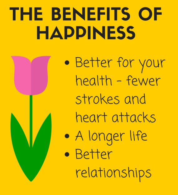 The three benefits of happiness
