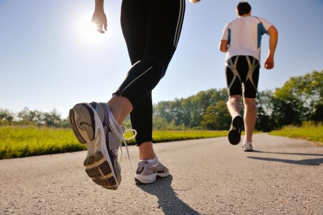 PEOPLE RUNINNG