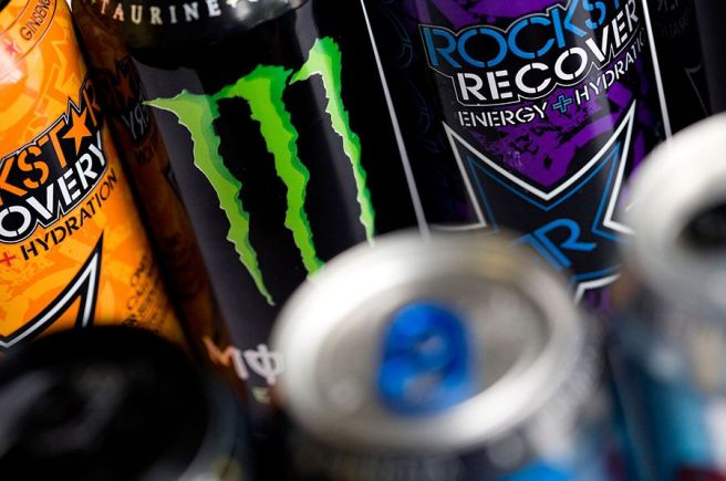 picture of different energy drinks