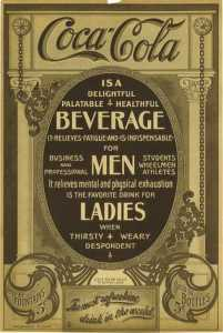 Coca-Cola ad from 1910