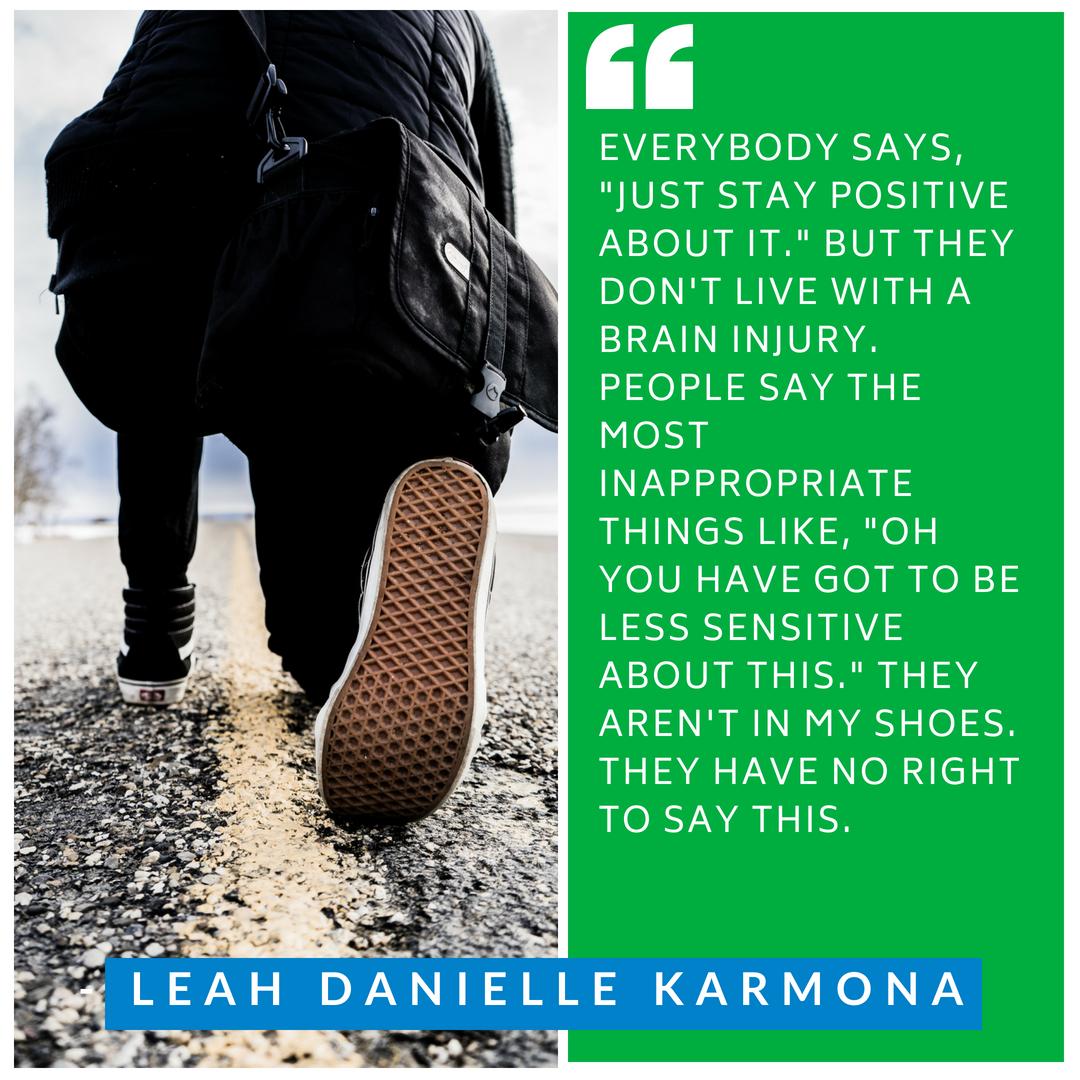 Living with brain injury
