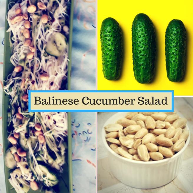 Balinese Cucumber Salad
