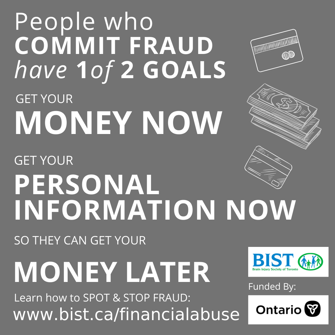 People who commit fraud have 1 of 2 GOALS