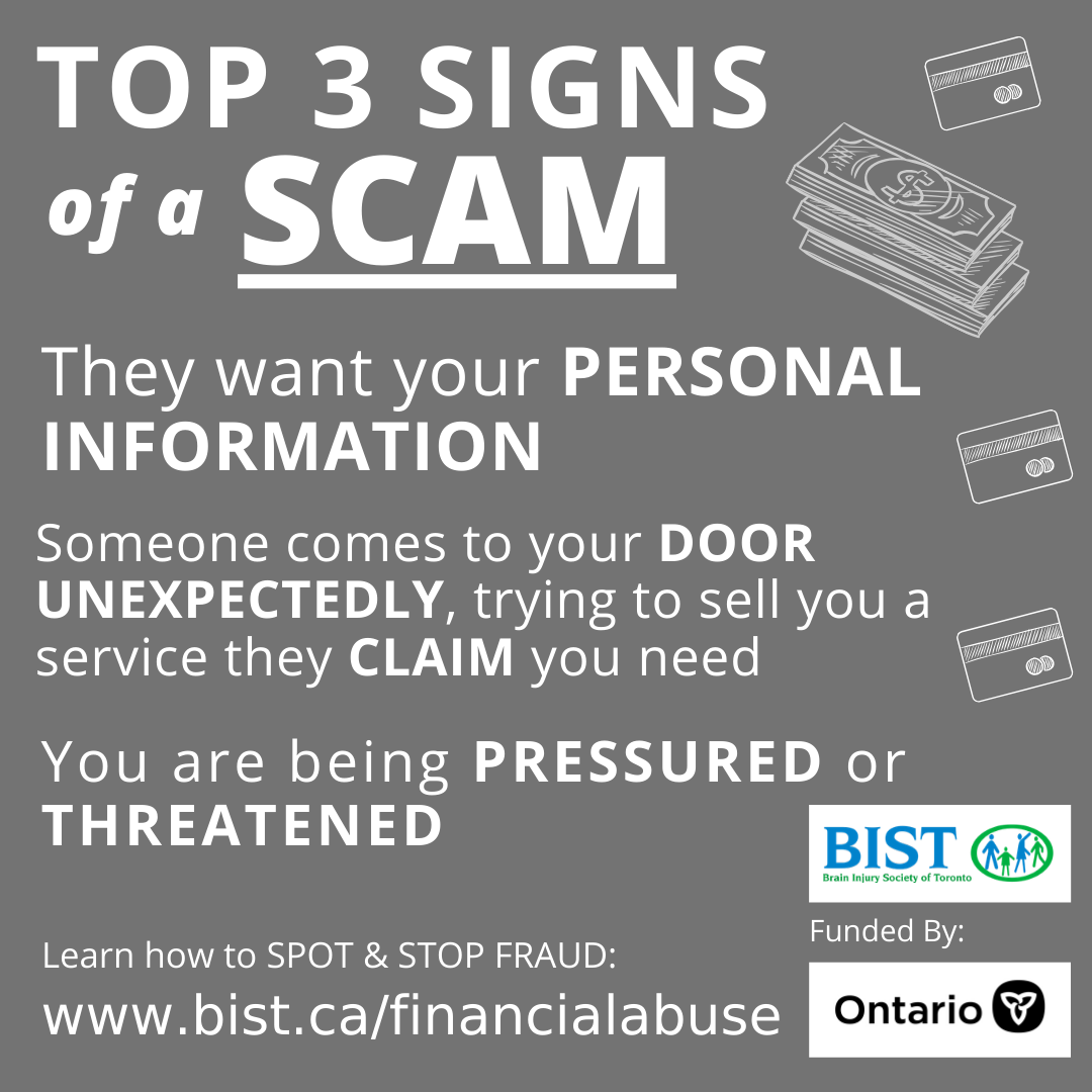 The Top 3 Signs of a SCAM