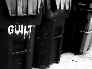 Guilt Trash Can